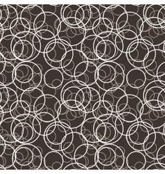 Seamless pattern of randomly circles vector
