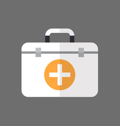 medicine chest icon first aids box vector image