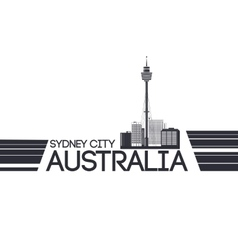 Sydney city banner vector image vector image