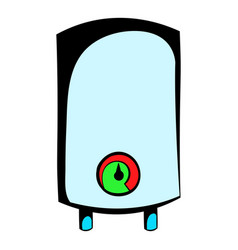 Boiler icon cartoon vector