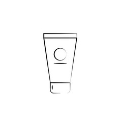 face cream icon element anti aging icon for vector image