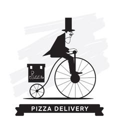 Pizza Delivery Service icon vector