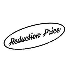 Reduction price rubber stamp vector