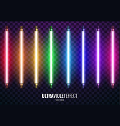 Ultraviolet light vector