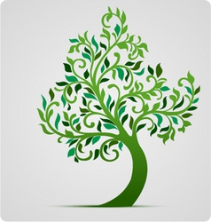 tree vector icon vector image vector image