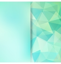 Abstract mosaic background Blur background vector