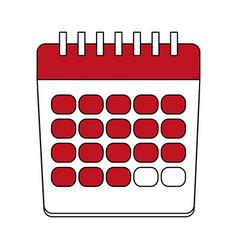 calendar event date vector image