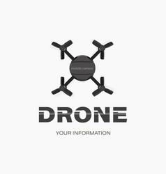 drone icon mobile camera vector image