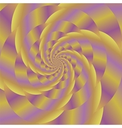 Fractal Design Colored Spiral Background vector