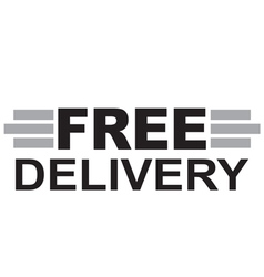 Free delivery Text vector
