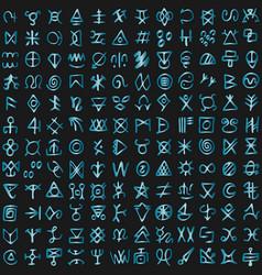 futuristic cyberspace code digital alien matrix vector image