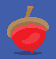 Gobble nut red 13 vector