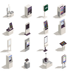 Interfaces icons set vector