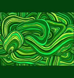 Simple doodle style abstract organic striped vector