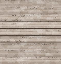 Brown wooden texture grunge background vector