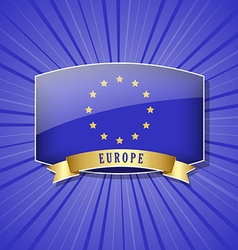 European icon vector image vector image