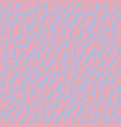 abstract psychedelic pattern with short wavy lines vector image