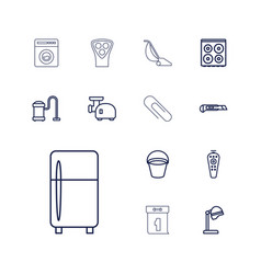 Appliance icons vector
