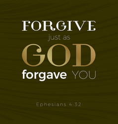 bible verse for christian or catholic vector image