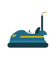 Bumper cars icon image vector