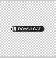 download button with arrow icon upload button vector image