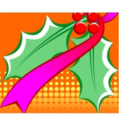 holiday decoration vector image