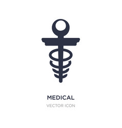 Medical icon on white background simple element vector