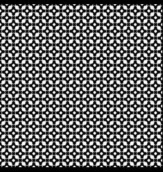 monochrome seamless pattern ornament texture vector image