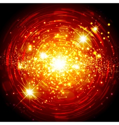 Orange Explosion Star Background vector