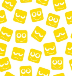 Smiley set vector image