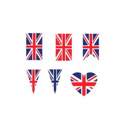 United kingdom symbols vector