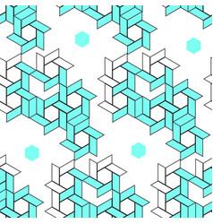 geometric pattern line art vector image vector image