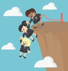 Business Team Work for Success vector image