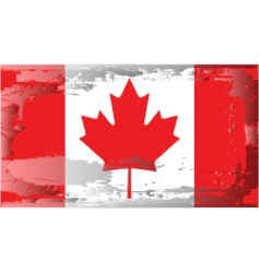 canada national flag vector image
