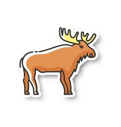 Elk patch vector
