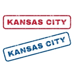 Kansas City Rubber Stamps vector
