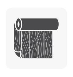 Linoleum pattern icon vector