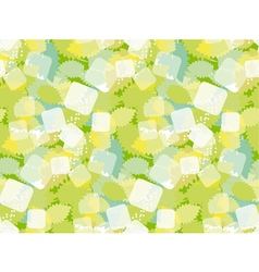 mojito concept green pattern vector image vector image