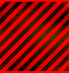 red and black stripes with grunge texture vector image
