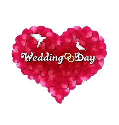 Wedding day vector