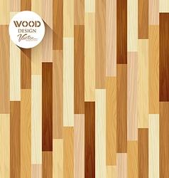 Wood floor striped vertical concept vector image vector image