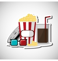 Cinema icon design vector image vector image