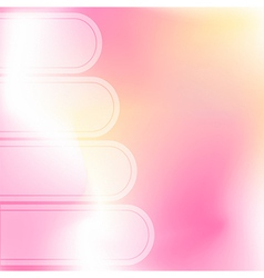 Pink abstract backgrounds vector image