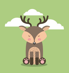 Cute animal vector
