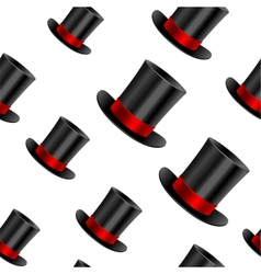 Cylinder hat background vector image