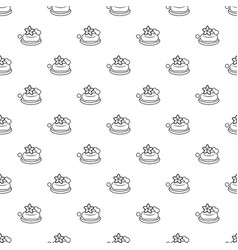 eco spa soap pattern seamless vector image