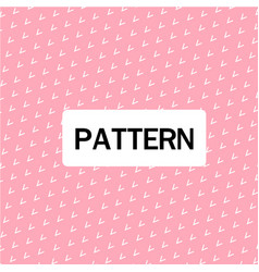 modern arrow design pattern pink background vector image