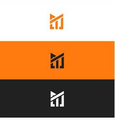 mt logo vector image