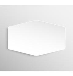 Paper Banner Design Mockup vector