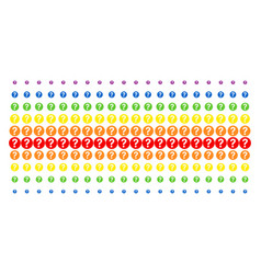 Query shape halftone spectrum grid vector